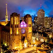 Grace Cathedral, San Francisco, California