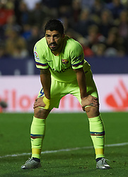 December 16, 2018 - Villarreal, Valencia, Spain - Luis Suarez of FC Barcelona during the La Liga match between Levante UD and FC Barcelona at Ciutat de Valencia Stadium on December 16, 2018 in Valencia, Spain. (Credit Image: © Maria Jose Segovia/NurPhoto via ZUMA Press)