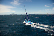SAILING - BARCELONA WORLD RACE 2010-2011 - WELLINGTON (NZ) - COOK STRAIT - XX/02/2011 - PHOTO : CHRIS CAMERON / DPPI / BARCELONA WORLD RACE.Virbac-Paprec 3 - Jean-Pierre Dick (FRA) / Loick Peyron (FRA)