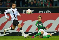 13.11.2010, Weser Stadion, Bremen, GER, 1.FBL, Werder Bremen vs 1. FC Eintracht Frankfurt im Bild Aaron Hunt ( Werder #14 )    EXPA Pictures © 2010, PhotoCredit: EXPA/ nph/  Kokenge+++++ ATTENTION - OUT OF GER +++++