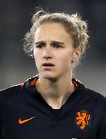 International Women's Fifa Play Off Matchs 2018 - 2 Leg / <br /> Switzerland v Netherlands 1-1 ( LIPO Park Stadium - Schaffhausen ,Switzerland ) - <br /> Anna Vivianne Miedema of Netherlands