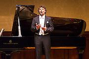 Jonas Kaufmann, tenor, sings at Wigmore Hall accompanied by Helmut Deutsch, piano on Sunday 4th January 2015