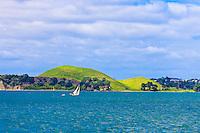 Hauraki Gulf, near Auckland, New Zealand