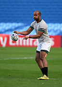 JP Pietersen during the South Africa Captain's Run training session in preparation for the Rugby World Cup at the American Express Community Stadium, Brighton and Hove, England on 18 September 2015. Photo by David Charbit.