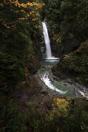 Cascade Falls at Cascade Falls Park near Mission, British Columbia, Canada