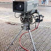 NLD/Hilversum/20160110 - NOS Journaal bestaat60 jaar en viert dit met Festival van het Nieuws, oude camera uit de jaren 70