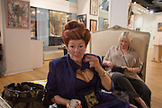 LADY SANDRA BATES, Lady  Sandra Bates and Jason Bradbury host 'Lust' a mixed exhibition. La Galleria. Pall Mall.  London 3 September 2013.