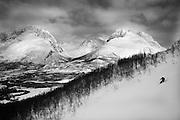 Skier - Randolph Rhea. Location - Rasmustinden, Lyngen Peninsula Norway