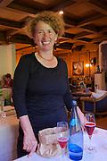 Neufelden, Austria. The gourmet restaurant at Genießerhotel Mühltalhof.<br /> Johanna Eckl-Rachinger.