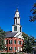 The First Church of Deerfield, Massachusetts, USA.