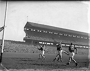 17/03/1954<br /> 03/17/1954<br /> 17 March 1954<br /> Interprovincial Railway Cup Final: Leinster v Munster at Croke Park, Dublin.