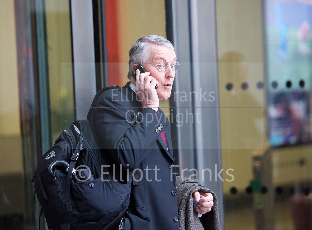 Hilary Benn <br /> BBC, Broadcasting House, london, Great Britain <br /> 5th March 2017 <br /> <br /> Hilary Benn <br /> <br /> Photograph by Elliott Franks <br /> Image licensed to Elliott Franks Photography Services
