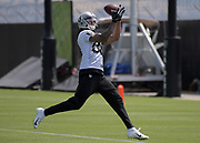 May 28, 2019; Alameda, CA,  USA; Oakland Raiders receiver <br /> Marcell Ateman  (88)  during  organized team activities at the Raiders practice facility.
