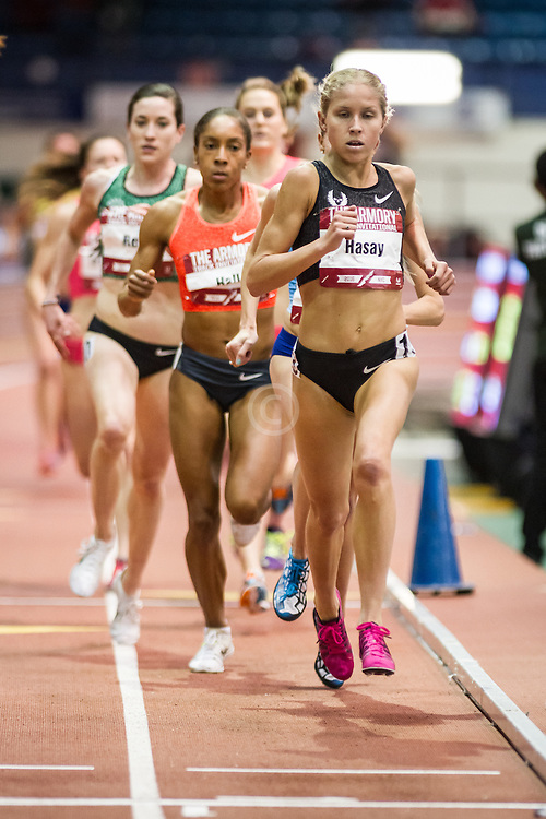 Jordan Hasay, Nike Oregon Project, womens 3000m, Armory Track Invitational Indoor,