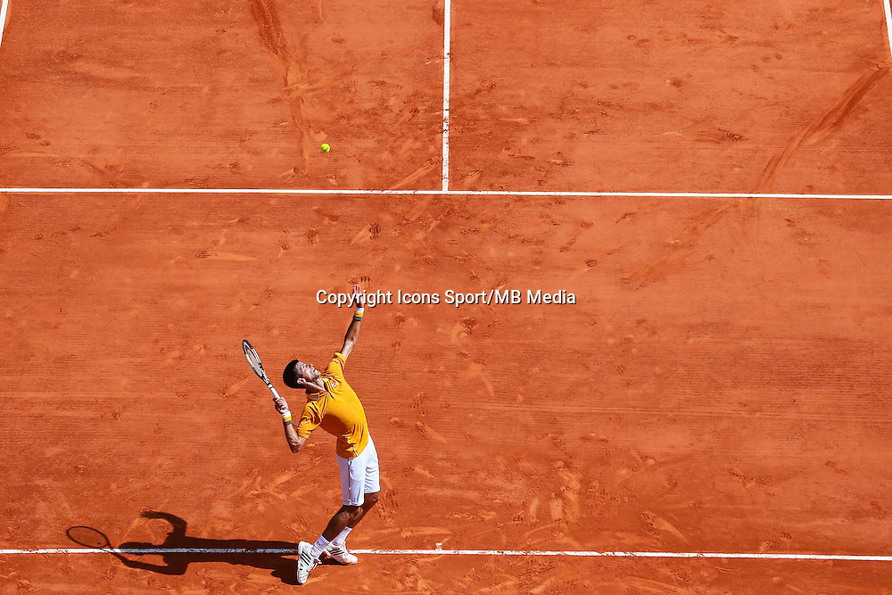 Novak Djokovic - 14.04.2015 - Tournoi de Monte Carlo - Masters 1000 -<br />