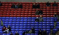 Photo: Paul Thomas/Sportsbeat Images.<br />Bolton Wanderers v Aris Salonica. UEFA Cup. 29/11/2007.<br /><br />Empty seats.