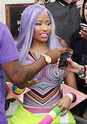 20.APRIL.2012. LONDON<br /> <br /> NICKI MINAJ LEAVES HER HOTEL AND VISITS RADIO ONE AND KISS FM STUDIOS, LONDON<br /> <br /> BYLINE: EDBIMAGEARCHIVE.COM<br /> <br /> *THIS IMAGE IS STRICTLY FOR UK NEWSPAPERS AND MAGAZINES ONLY*<br /> *FOR WORLD WIDE SALES AND WEB USE PLEASE CONTACT EDBIMAGEARCHIVE - 0208 954 5968*
