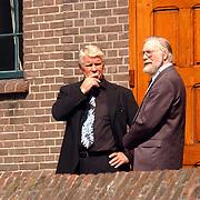 Begrafenis Bertus Luske, bokser Rudi Koopmans
