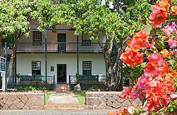 Built in 1834-35 of thick timbers, coral and stone, what is now the Baldwin Home Museum was home to Dr. Dwight Baldwin and his family during their year of medical and missionary work on Maui.