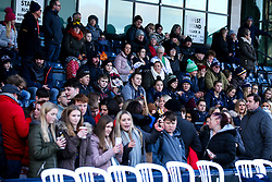 Worcester Warriors Women fans - Mandatory by-line: Robbie Stephenson/JMP - 01/12/2019 - RUGBY - Sixways Stadium - Worcester, England - Worcester Warriors Women v Bristol Bears Women - Tyrrells Premier 15s