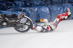 15.03.2019, Max Aicher Arena, Inzell, GER, Eisspeedway, World Championship Finale 4, im Bild Franz Zorn (AUT) // Franz Zorn of Austria during the Ice Speedway, World Championship Final 4 at the Max Aicher Arena in Inzell, Germany on 2019/03/15. EXPA Pictures © 2019, PhotoCredit: EXPA/ Ernst Wukits