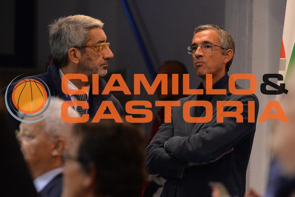 Carlo Guadalupi, Marino Fernando<br /> Happycasa Basket Brindisi - Sidigas Avellino<br /> Legabasket serieA 2017-2018<br /> Brindisi , 15/11/2017<br /> Foto Ciamillo-Castoria/ M.Longo