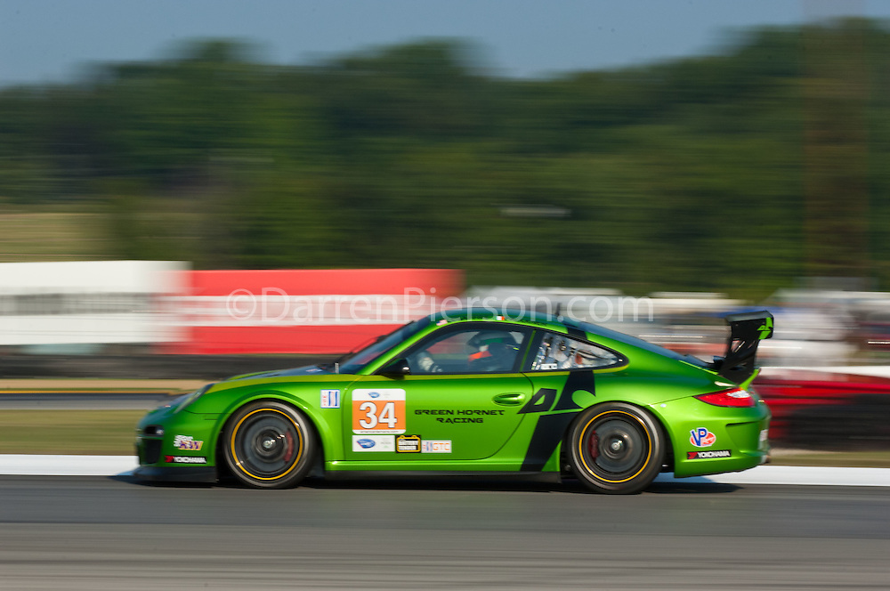 #34 Green Hornet Racing Porsche 911 GT3 Cup: Peter LeSaffre, Damien Faulkner