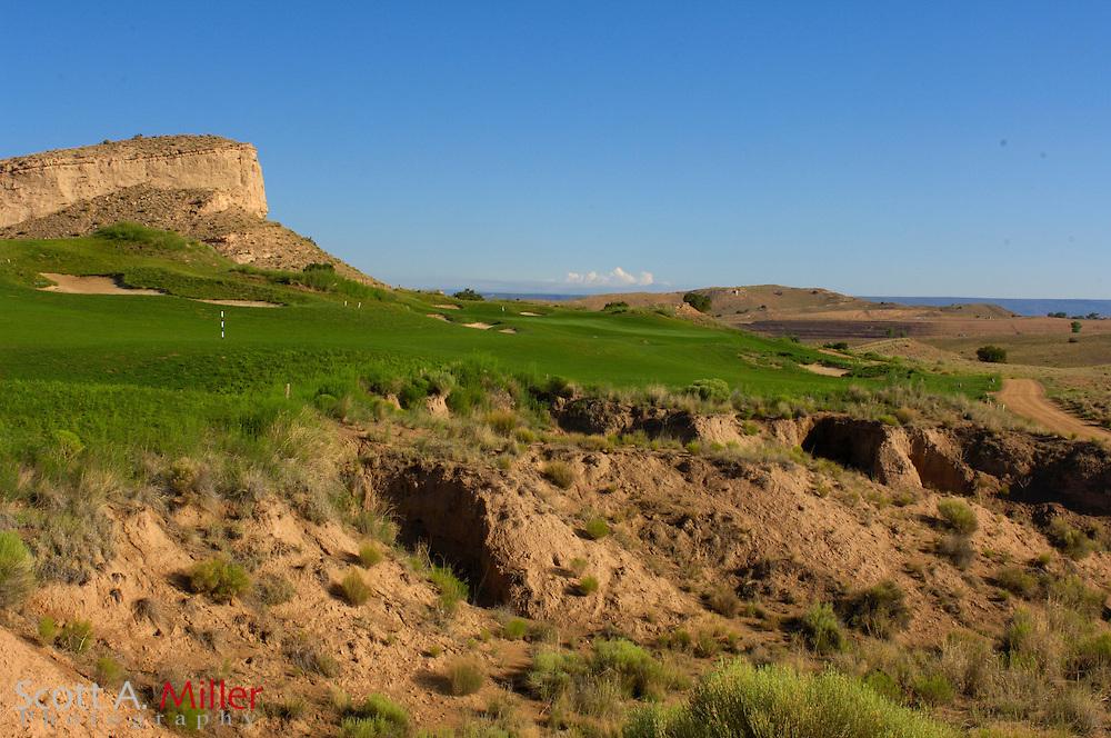 Espanola, N.M.:  July 10, 2006 -  No. 7 on Black Mesa Golf Club in Espanola, N.M...                ©2006 Scott A. Miller