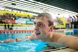 Winner Sergey Fesikov of Russia during the 50m Freestyle at the swimming competition Ilirija Challenge 2009, on December 16, 2009, in Tivoli pool, Ljubljana, Slovenia. (Photo by Vid Ponikvar / Sportida)
