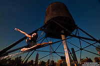 New York City Rooftop Dance As Art Photography Project- featuring dancer Schae-Lysette Harrison