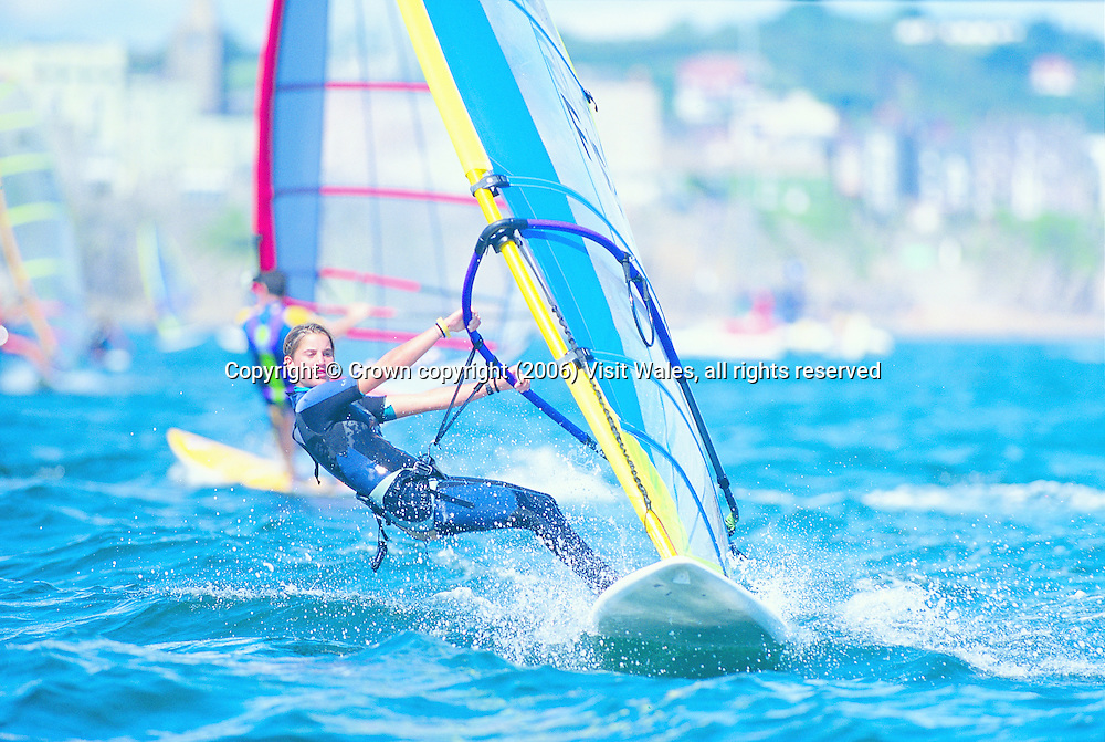 Tenby Watersports Festival 1997<br /> Windsurfing<br /> Activities &amp; Sports