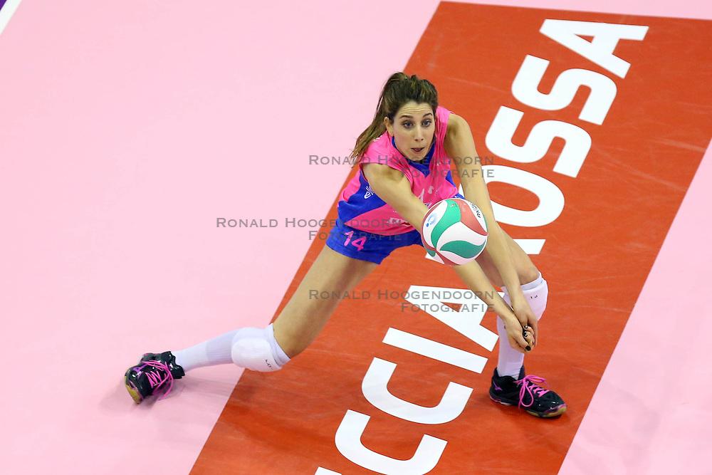 26-04-2016 ITA: Imoco Volley Conegliano - Nordmeccanica Piacenza, Treviso<br /> Final play-offs, Conegliano wint de eerste wedstrijd 1-0 / Floortje Meijners<br /> <br /> ***NETHERLANDS ONLY***