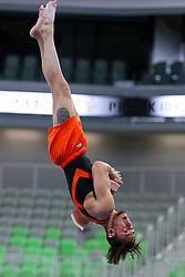 05-04-2015 SLO: World Challenge Cup Gymnastics, Ljubljana<br /> Bart Deurloo of Netherland in Vault during Final of Artistic Gymnastics World Challenge Cup Ljubljana, on April 5, 2015 in Arena Stozice, Ljubljana, Slovenia. Photo by Morgan Kristan / RHF Agency