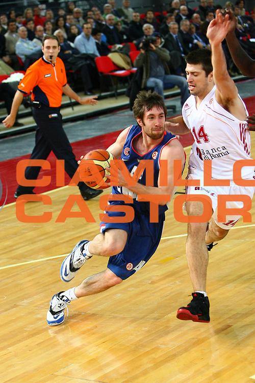 DESCRIZIONE : Roma Eurolega 2006-07 Lottomatica Virtus Roma Cibona Zagabria<br /> GIOCATORE : Wisniewsky<br /> SQUADRA : Cibona Zagabria<br /> EVENTO : Eurolega 2006-2007 <br /> GARA : Lottomatica Virtus Roma Cibona Zagabria<br /> DATA : 01/02/2007 <br /> CATEGORIA : Penetrazione<br /> SPORT : Pallacanestro <br /> AUTORE : Agenzia Ciamillo-Castoria/E.Castoria