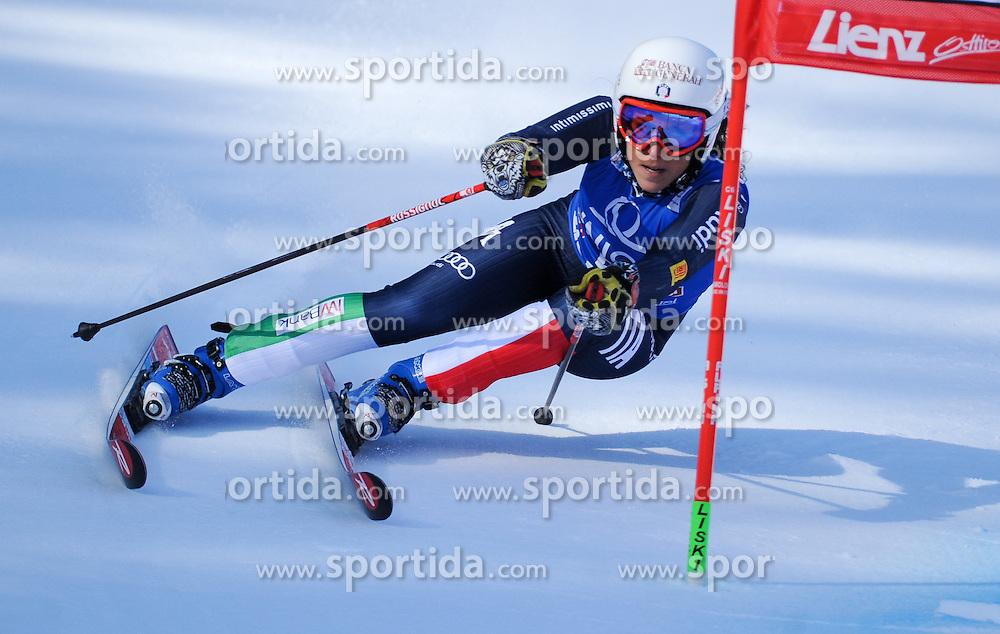 28.12.2015, Hochstein, Lienz, AUT, FIS Weltcup Ski Alpin, Lienz, Riesenslalom, Damen, 1. Durchgang, im Bild Federica Brignone (ITA) // Federica Brignone of Italy during 1st run of ladies Giant Slalom of the Lienz FIS Ski Alpine World Cup at the Hochstein in Lienz, Austria on 2015/12/28. EXPA Pictures © 2015, PhotoCredit: EXPA/ Erich Spiess