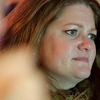 Rep. Susi Hamilton watches election results at Ted's Fun on the River Tuesday November 4, 2014 in Wilmington, N.C. (Jason A. Frizzelle)