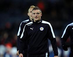 Jamie Vardy of Leicester City - Mandatory byline: Robbie Stephenson/JMP - 28/11/2015 - Football - King Power Stadium - Leicester, England - Leicester City v Manchester United - Barclays Premier League