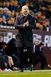 Burnley Manager Sean Dyche looks on sternly - Photo mandatory by-line: Rogan Thomson/JMP - 07966 386802 - 02/12/2014 - SPORT - FOOTBALL - Burnley, England - Turf Moor Stadium - Burnley v Newcastle United - Barclays Premier League.