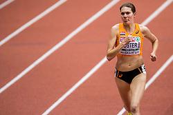 05-02-2017  SRB: European Athletics Championships indoor day 3, Belgrade<br /> Marleen Koster slaagt er niet in om Nederland een tweede medaille te bezorgen. in de laatste ronde werd ze geklopt en werd vierde