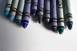 09 August 2014:   Studio - Crayola Crayons