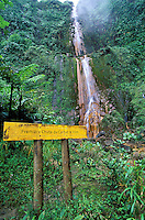France - Département d'Outre mer de la Guadeloupe (DOM) - Basse Terre - Chutes du Carbet - 1er chute du Carbet