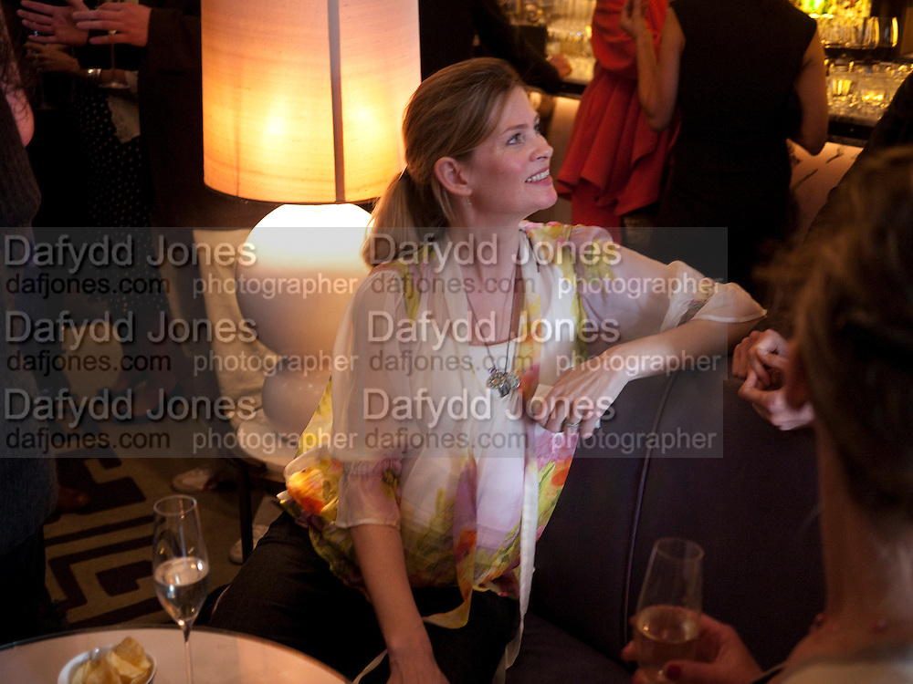 EMMA TWEED, Henry Porter hosts a launch for Songs of Blood and Sword by Fatima Bhutto. The Artesian at the Langham London. Portland Place. 15 April 2010.