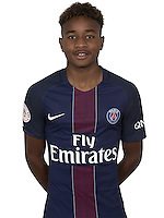 Christopher Nkunku of PSG during PSG photo call for the 2016-2017 Ligue 1 season on September, 7 2016 in Paris, France<br /> Photo : C.Gavelle/ PSG / Icon Sport