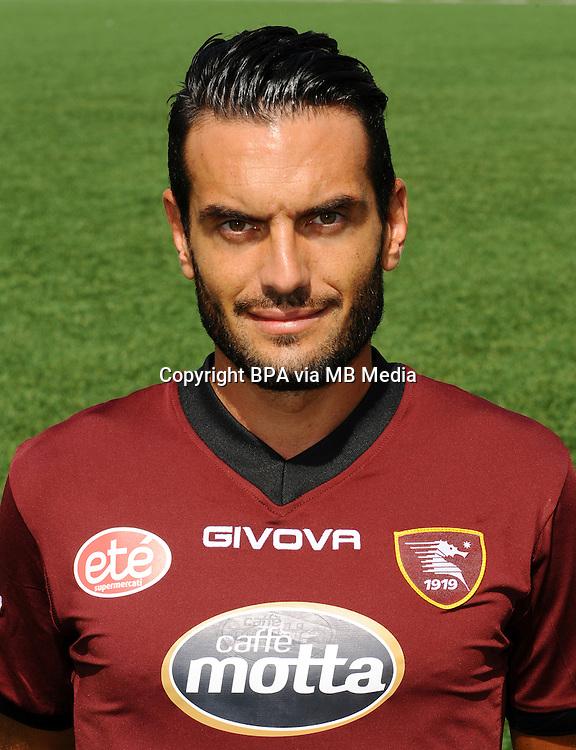 Italian League Serie B_2015-2016 / <br /> ( U. S. Salernitana 1919 ) -  <br /> Riccardo Colombo