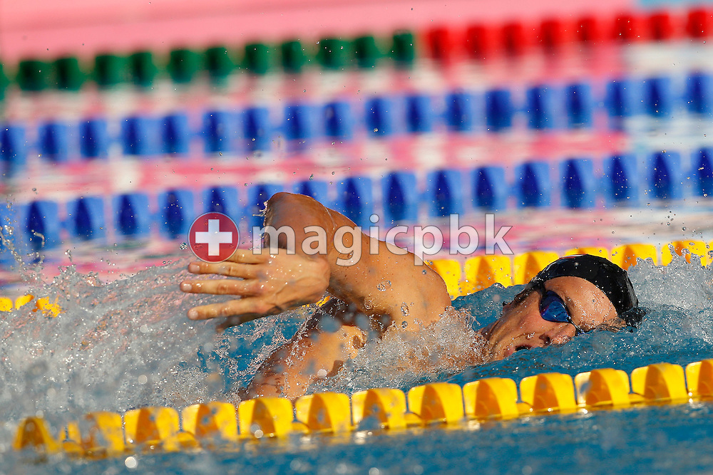Markus ROGAN of Austria swims on the Freestyle (Crawl) leg in the men's 200m Individual Medley (IM) Semifinal 1 at the European Swimming Championship at the Hajos Alfred Swimming complex in Budapest, Hungary, Tuesday, Aug. 10, 2010. (Photo by Patrick B. Kraemer / MAGICPBK)