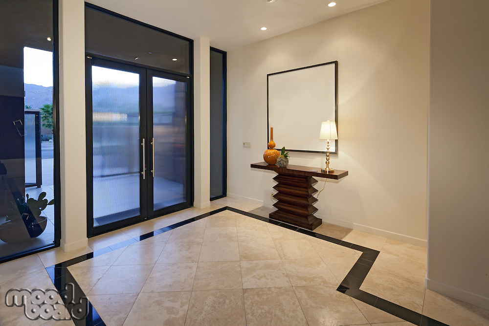 Luxurious entry to house
