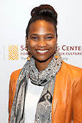 New York, NY-May 13: Chef Nicole Friday attends ' Harlem on my Plate' and the Toasting of the Schomburg Center for its National Medal for Museums & Library Service Award powered by Citi on May 13, 2015 in New York City. Terrence Jennings/terrencejennings.com)
