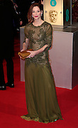 Feb 8, 2015 - EE British Academy Film Awards 2015 - Red Carpet Arrivals at Royal Opera House<br /> <br /> Pictured: Sienna Guillory<br /> ©Exclusivepix Media