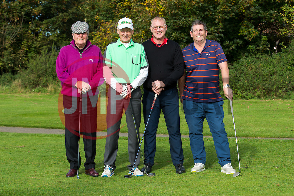 Eventual winners the Bristol Irish Golf Society take part in the annual Bristol Rovers Golf Day - Rogan Thomson/JMP - 10/10/2016 - GOLF - Farrington Park - Bristol, England - Bristol Rovers Golf Day.