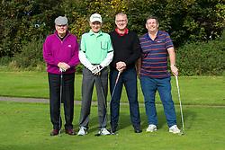 Eventual winners the Bristol Irish Golf Society take part in the annual Bristol Rovers Golf Day - Rogan Thomson/JMP - 10/10/2016 - GOLF - Farrington Park - Bristol, England - Bristol Rovers Golf Day.